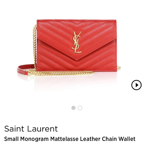 674a59d53be Yves Saint Laurent Bags   Authentic Ysl Matelasse Shoulder Bag ...